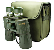 SEEKER 10X50 mm Binoculars High Definition Night Vision Wide Angle BAK4 Fully Coated Dimlight 115m/1000M Central Focusing