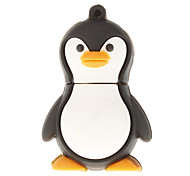 8gb pinguim flash drive em forma usb