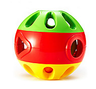 Educational Multicolored Hand-grasped Jingle Balls Toy