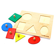 Wooden Geometry Figure Panel for Kids