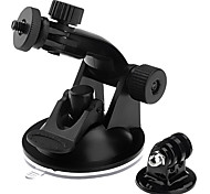 Suction Cup Mount For GoPro Hero 2/ 3 +Tripod Adapter+Screw + Nut