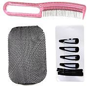 Cuidado de la peluca Set (1 * Acero Comb, 8 * Clips y 1 * Wig Cap Liner)