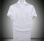Men's Short Sleeve Polo , Cotton/Polyester Casual/Work/Sport