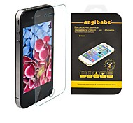 Angibabe 0.21mm Russian Spanish Engish Version for iPhone 4 / 4S Screen Protector Premium Tempered Glass Series