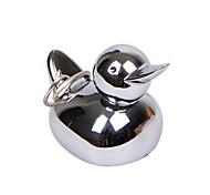 Cartoon Duck Metal Ring Setting