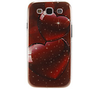 Telesthesia Pattern Plastic Protective Hard Back Case Cover for Samsung Galaxy S3 I9300