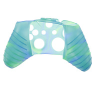 Silicone Skin Case for XBOX ONE (Green + Blue)