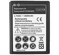 2600mAh Cell Phone Battery for Samsung Galaxy Note GT-N7000 i9220 LTE i717