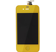 Yellow LCD Screen Touch Digitizer Assembly for iPhone 4s