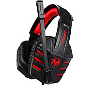 G927V2012 Somic Stereo Gaming USB 7.1 audio Canale cuffie over-ear con microfono e telecomando per il PC