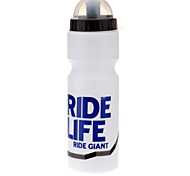 RIDELIFE White PVC Sports Water Bottle for Cycling