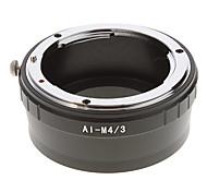 AI-M4/3 Camera Lens Adapter Ring (Black)