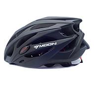 MOON vélo Noir PC + EPS 25 Vents VTT Casque de protection