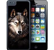 Modelo del tigre Gray Case Efecto 3D para iPhone 5C