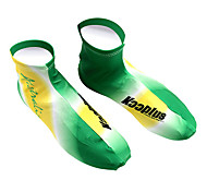 KOOPLUS - Australian Scarpe Squadra nazionale Polyester + Lycra Bianco + Verde ciclismo Copertina