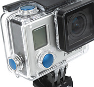 Gopro Accessories Button For All Gopro Aluminium Alloy Blue