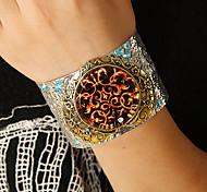 moda festa prata bracelete aberto