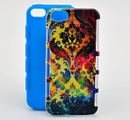 Totem Colorful 2 in 1 antiurto TPU e Hard Case per iPhone 5/5S