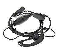 Ohr-Aufhänger Mic Headset für Kenwood