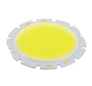 10W COB 1000LM 6000K Cool White Light LED Chip (32-36V)