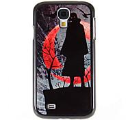 Dark Night Warrior Motivo specchio liscio Fondello rigido con pellicola di schermo HD 3 pc per Samsung i9500 S4