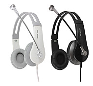 Salar A504V USB Stereo Over-Ear Headphone with Mic and Remote for PC