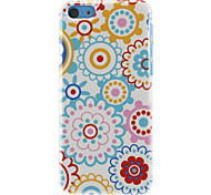 Colorful Sun Flowers Pattern Hard Case for iPhone 5C