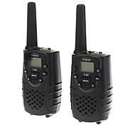 2pcs/pair 5KM 22CH LCD Display Channel Lock handheld draagbare Walkie Talkie 2-Way Radio