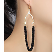 Multilayer Chain Drop Earrings