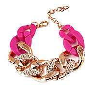 Мода Twisted цепь и браслет Ссылка (случайный цвет)