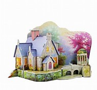 3D Puzzle  Mini Warm House Toy  for Kids