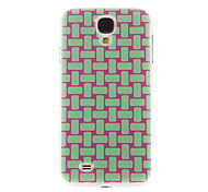 Knit Strips Pattern Plastic Protective Hard Back Case Cover for Samsung Galaxy S4 I9500