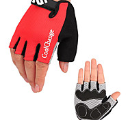 CoolChange Cycling Anti-skid Red Half Finger Gloves