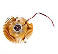 Металл памяти 4.5cm Вентилятор и радиатор костюм