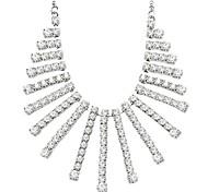Fashion Claw Chain Rhinestone Necklace