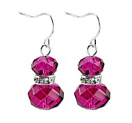 Fashion Glass Bead Drop Earrings