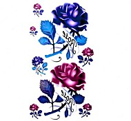 5 Stück Rose Wasserdicht Tattoo (10,5 cm * 20,5 cm) HM064
