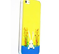 Rabbit Trees Pattern Polycarbonate Hard Cases for iPhone 5/5S