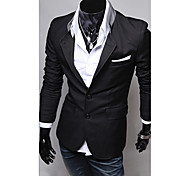 Men's Solid Casual Blazer