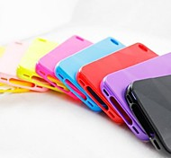 Geometrical Shape Style Soft Shell Back Case for iPhone 4/4S (Assorted Color)