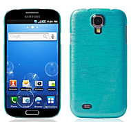 Half Transparent Wire Drawing Pattern Back Case for Samsung Galaxy S4 i9500(Assorted Color)