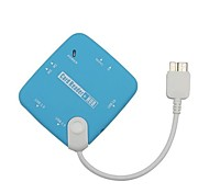 Micro USB 3.0  OTG Card Reader and 3 Ports USB HUB for Samsung Note 3 Charging Data Transfer