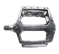 Silver Aluminum Alloy Bicycle Pedals