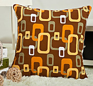Classic Yellow Geometric Pillow With Insert
