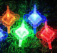 5M 3W 50-LED Chinese Knot Shaped LED Colorful Strip Light (220V)