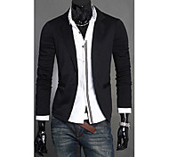 Men's Slim Fit Knit Blazer