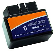 In Car Multiprotocol ELM327 OBD-II Diagnostic Tools Bluetooth Wirelesss Scanner B05