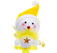 Lollipop Snowman Christmas Decoration (Random Color)