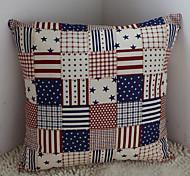 bandeira moderna dos Estados Unidos BARBOLA decorativo travesseiro com inserção
