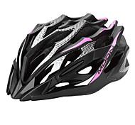 MOON Radfahren Pink + Black PC / EPS 28 Vents MTB Helm